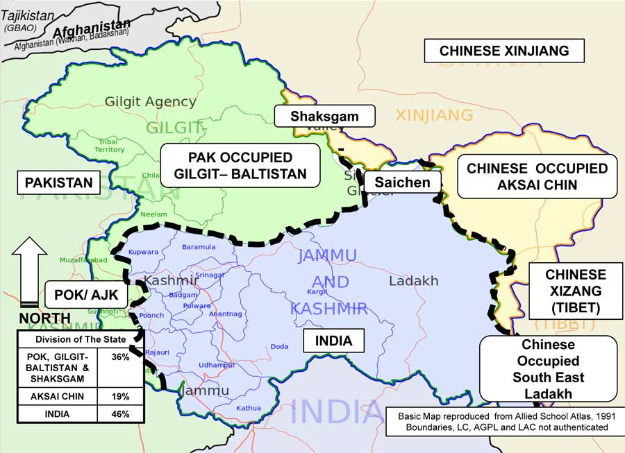 China reacts to J&K, India demands reciprocity - Indian Punchline